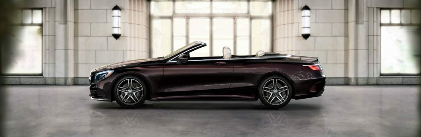 2017 S-Class Cabriolet in Brown