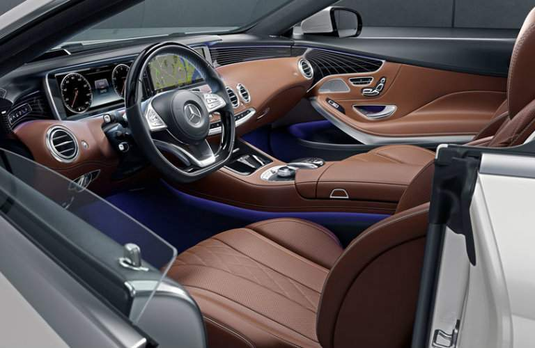 2017 S-Class Cabriolet Command Center