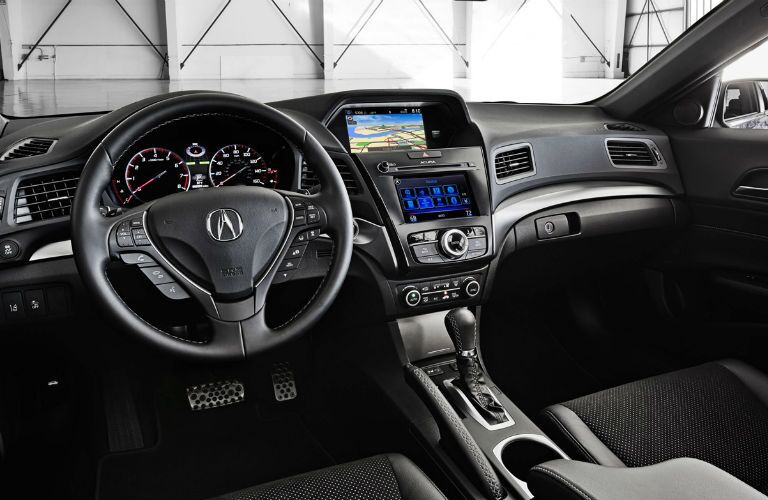 2017 Acura ILX Infotainment Screen