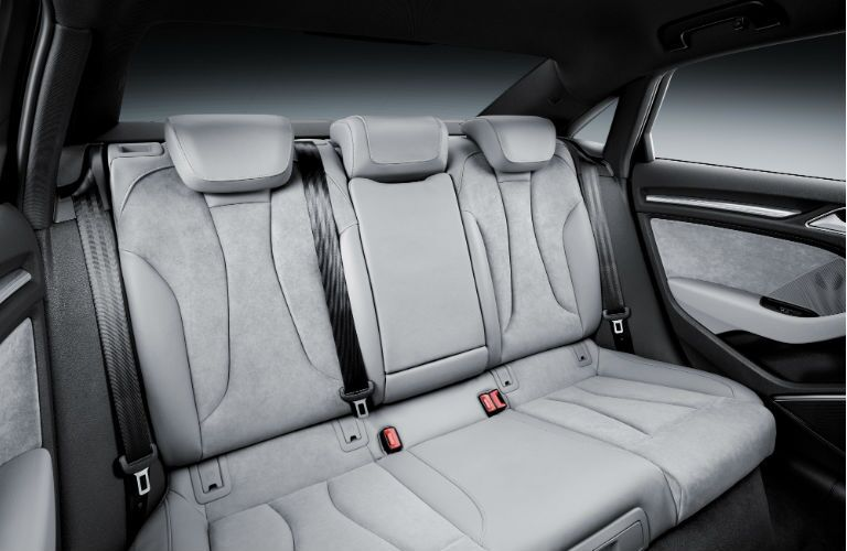 2017 Audi A3 Sedan Back Seats