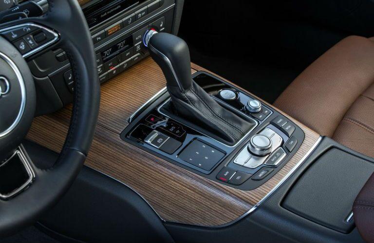 2017 Audi A7 Wood Grain Interior