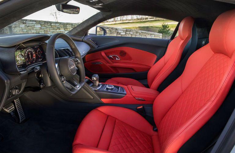 2017 Audi R8 Cockpit