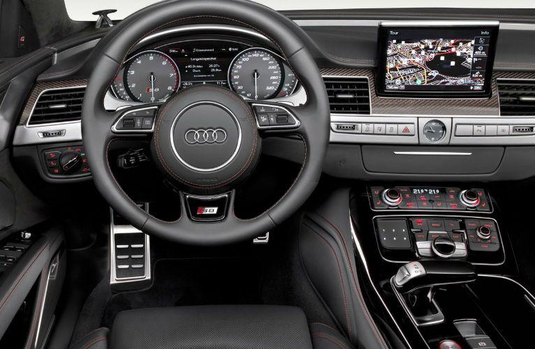 2017 Audi S8 Plus Front Seats