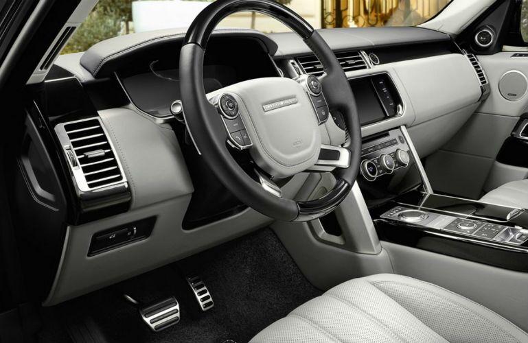 2017 Land Rover Range Rover Multi-Function Steering Wheel