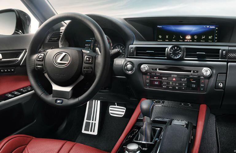2017 Lexus GS F Sport Infotainment Screen