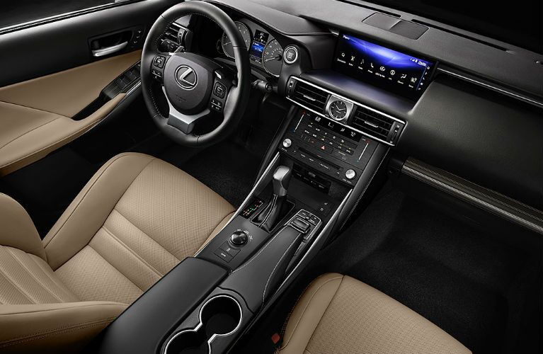 2017 Lexus IS Turbo Leather Interior