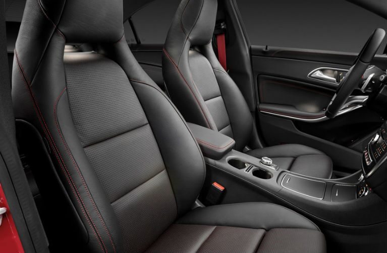 2017 Mercedes-AMG CLA43 Front Seats