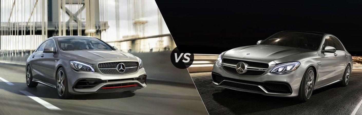 2017 Mercedes-Benz CLA vs C-Class
