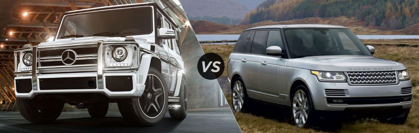 2017 Mercedes-Benz G-Class VS Land Rover Range Rover