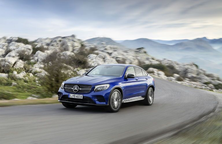 2017 Mercedes-AMG GLC43 Coupe Headlights