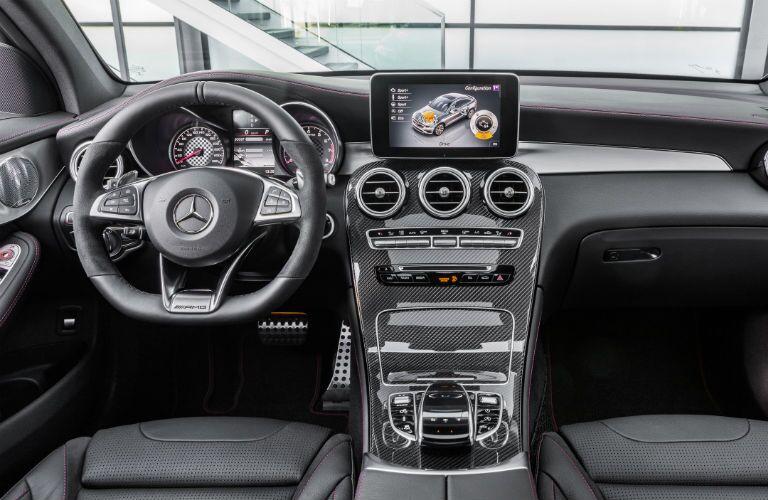 2017 Mercedes-AMG C43 carbon fiber interior