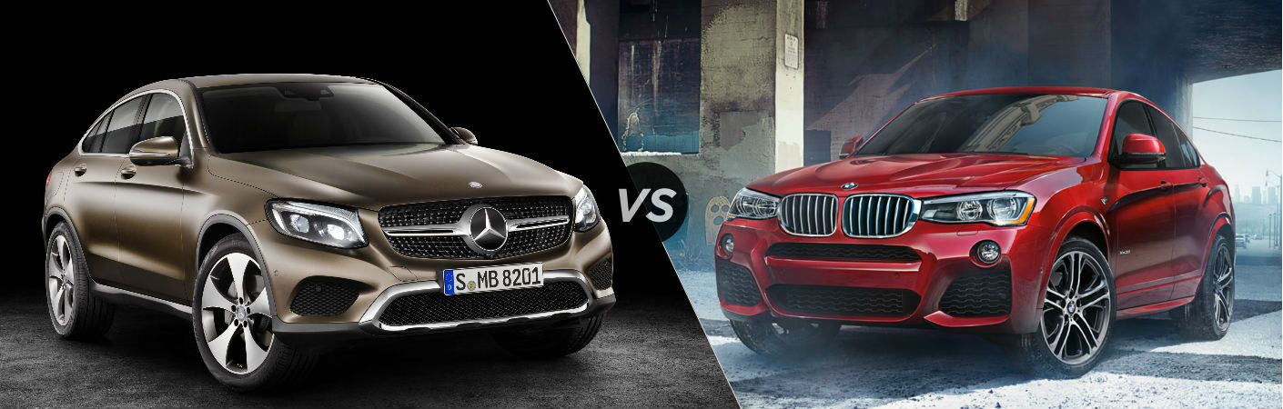2017 Mercedes-Benz GLC Coupe vs BMW X4
