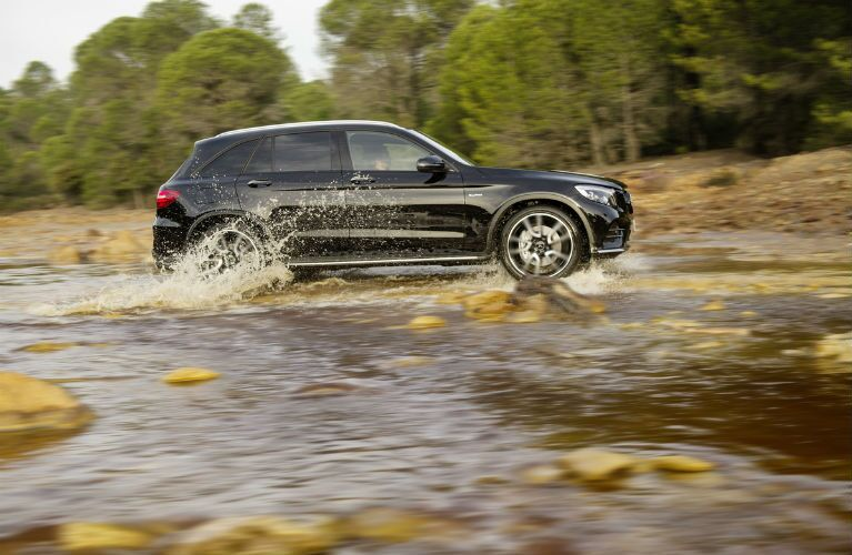 2017 Mercedes-AMG GLC43 Fording The River And Getting Dysentary Probably