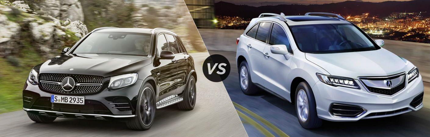 2017 Mercedes-Benz GLC vs Acura RDX