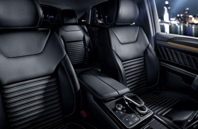 2017 Mercedes-AMG GLE63 S Back Seats