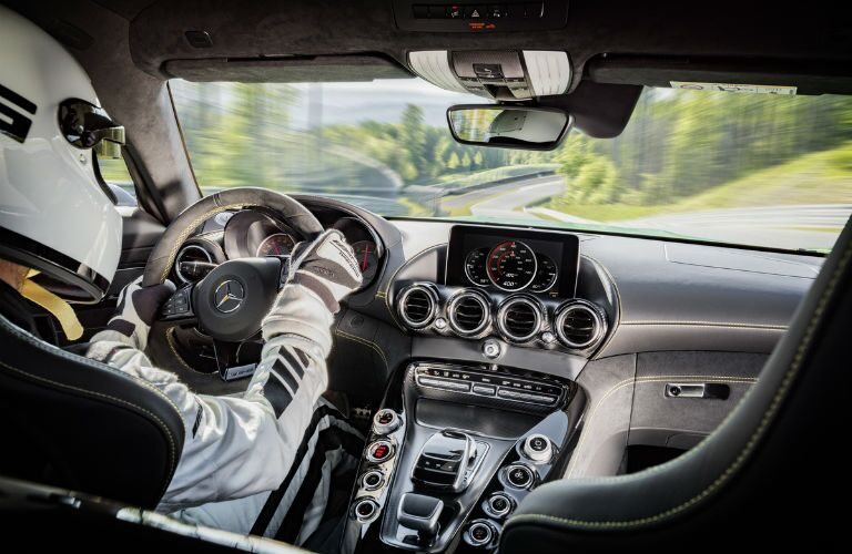 2017 Mercedes-AMG GT R Center Console