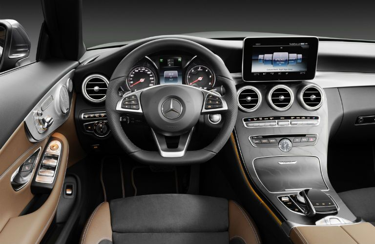 2017 Mercedes-Benz C300 Infotainment Display