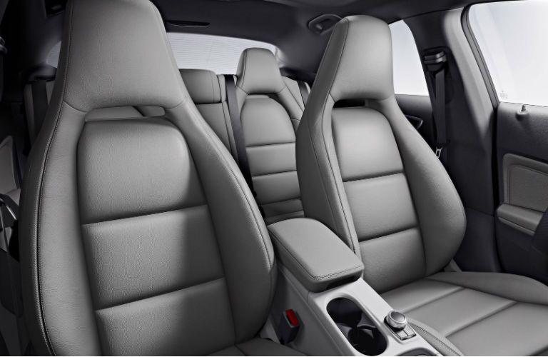 2017 Mercedes-Benz CLA Front Seats