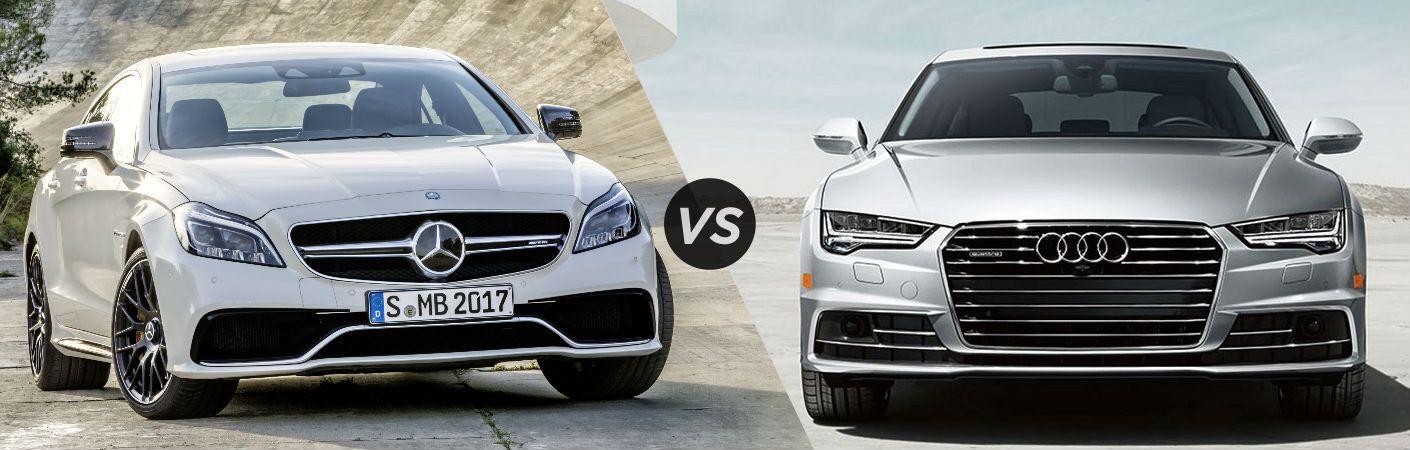 2017 mercedes benz cls vs audi a7 for Mercedes benz employee discount program