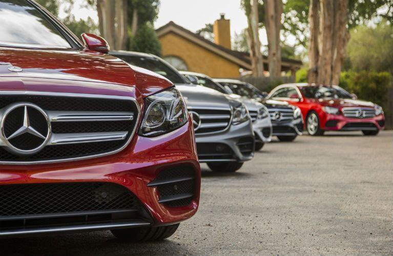 Mercedes-Benz E-Class Grille