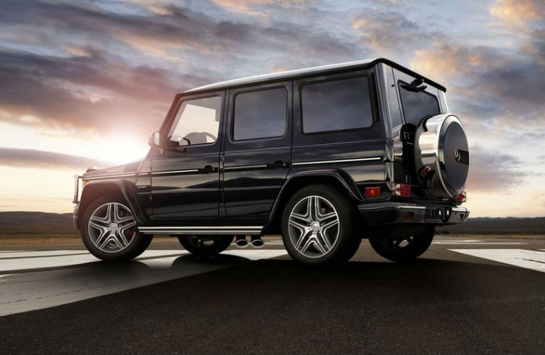 2017 Mercedes-Benz G550 SUV Ground Clearance