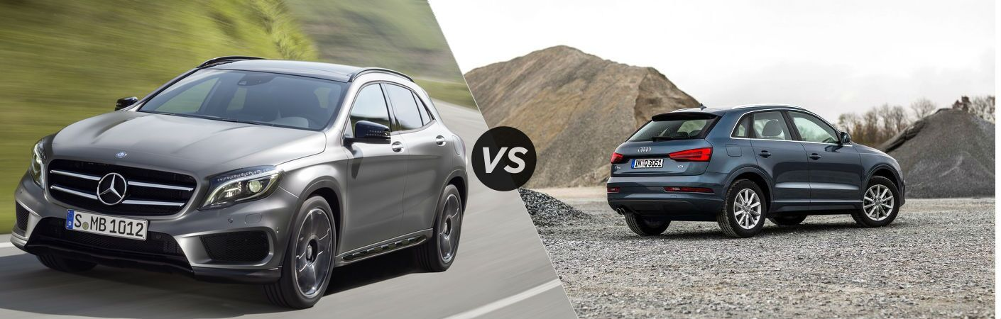 2017 Mercedes-Benz GLA VS Audi Q3