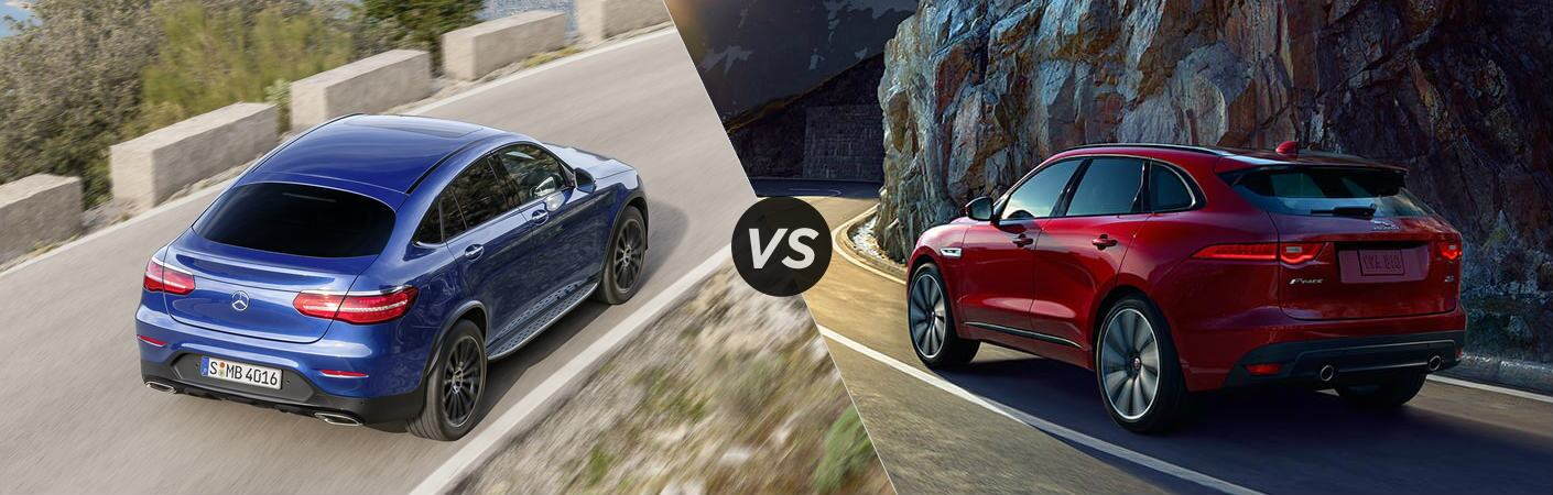 2017 Mercedes-Benz GLC Coupe vs Jaguar F-Pace