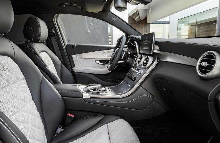 2016 Mercedes-Benz GLC SUV Black Leather Interior