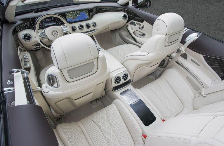 2017 Mercedes-AMG S63 Dual 12-inch infotainment screen