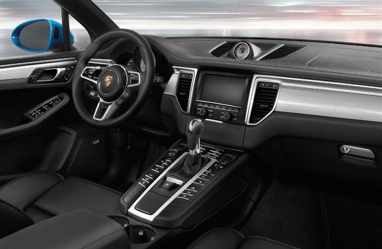 2017 Porsche Macan S Dashboard