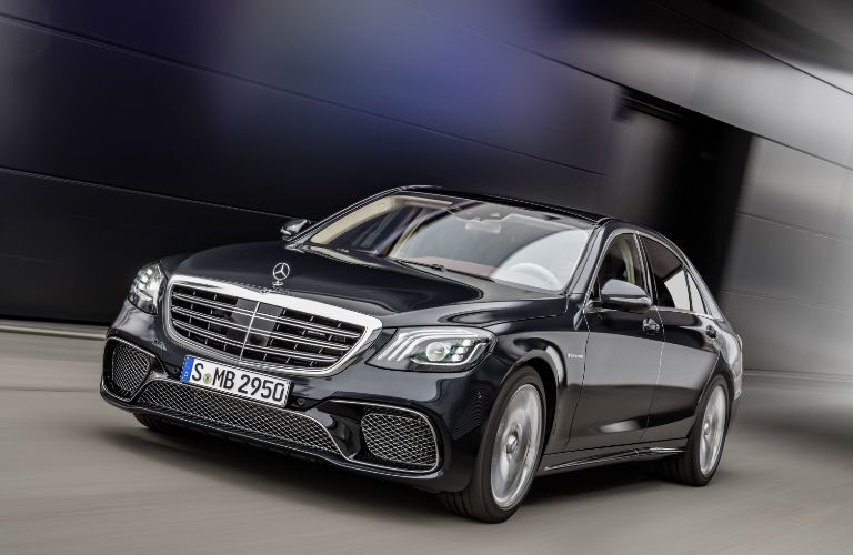 AMG S-Class Sedan in Black