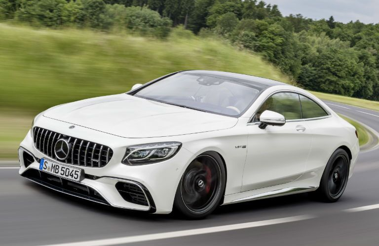 AMG S-Class Coupe in White