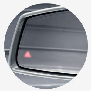 Does the CLA 250 have blind spot assist?