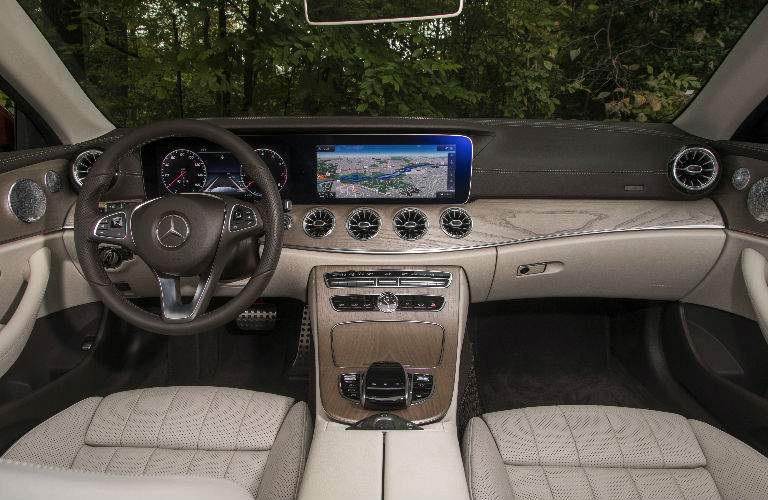 2018 E-Class Cabriolet Command Center in Beige