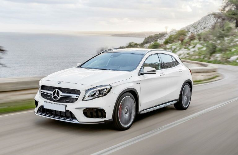 AMG® GLA SUV in white