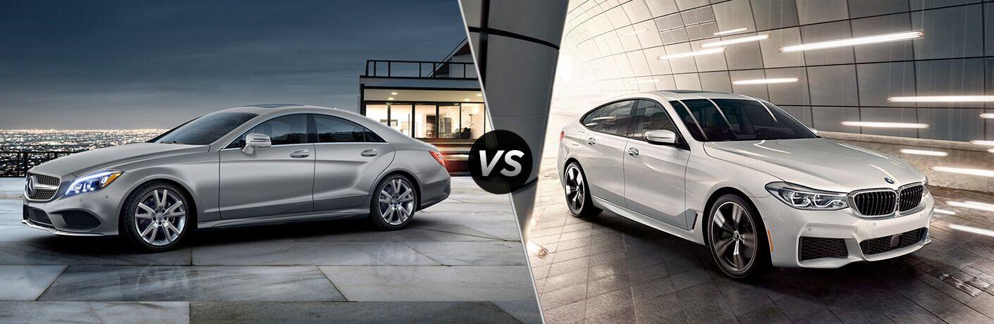2018 CLS 550 in Silver vs 2018 BMW 6 Series Gran Turismo