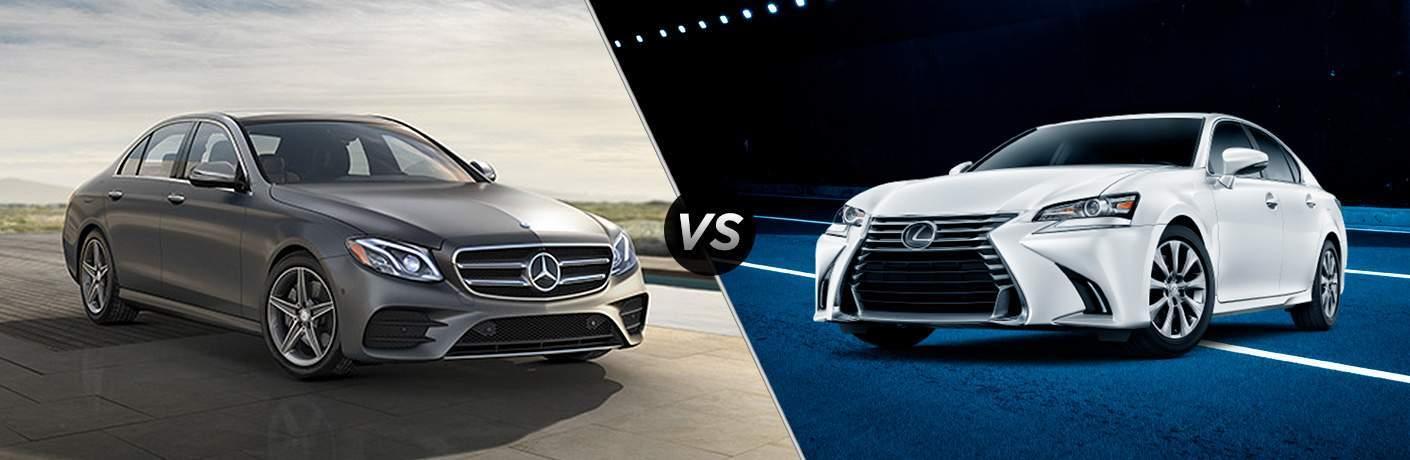 2018 E 300 vs 2018 Lexus GS 300