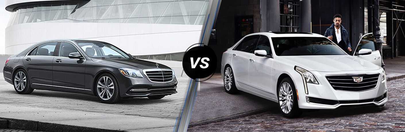 2018 Mercedes Benz S Cl Vs Cadillac Ct6 Sedan