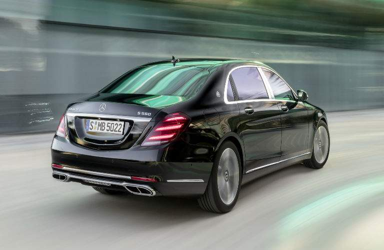 2018 S-Class Sedan in Black Rear View