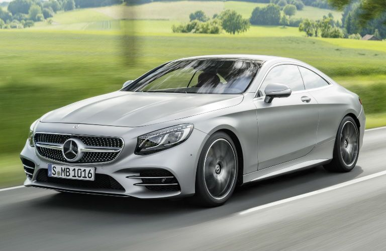 S-Class Coupe in Silver