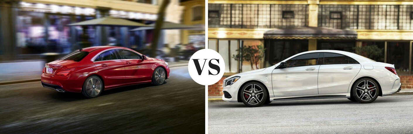2018 Mercedes-Benz CLA vs 2017 Mercedes-Benz CLA