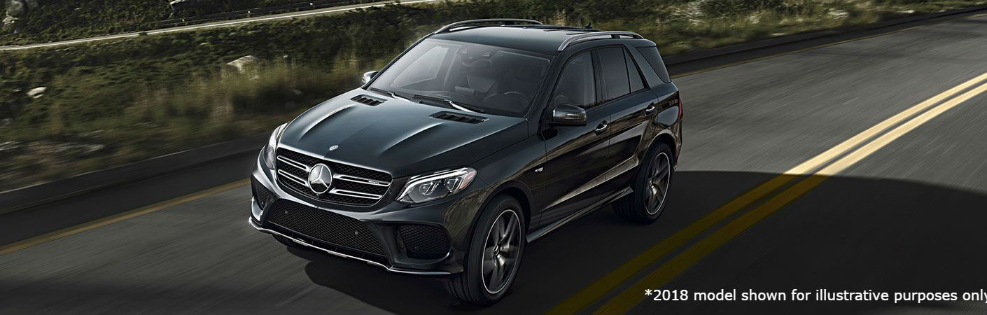 2018 MB AMG GLE 43 SUV exterior front fascia and drivers side