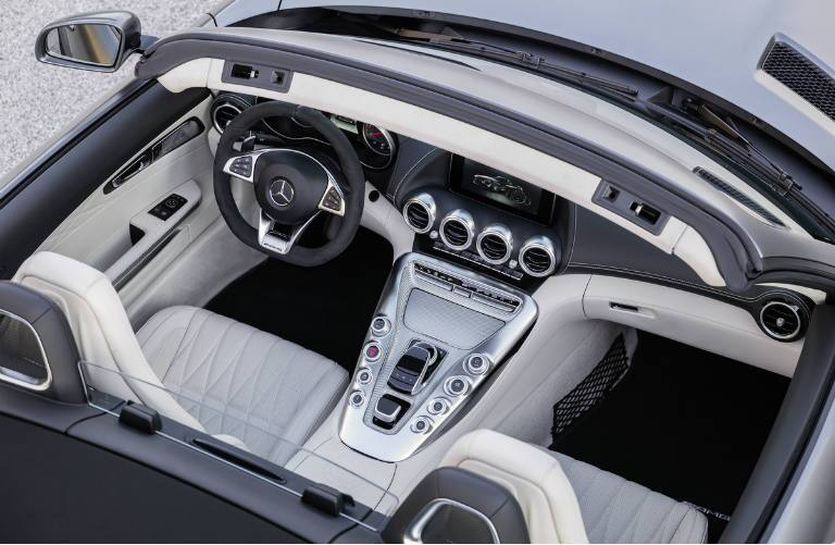 2018 Mercedes-AMG GT Roadster Creme Seats