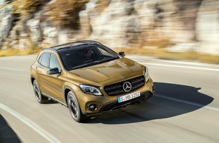 2018 Mercedes-Benz GLA Performance capabilities