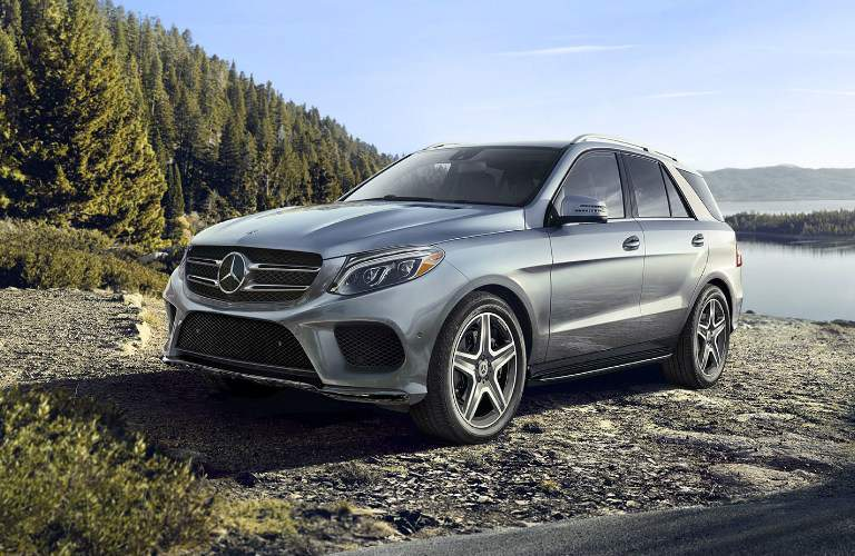 GLE SUV in Silver