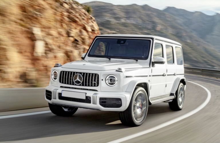 AMG® G-Class SUV in white