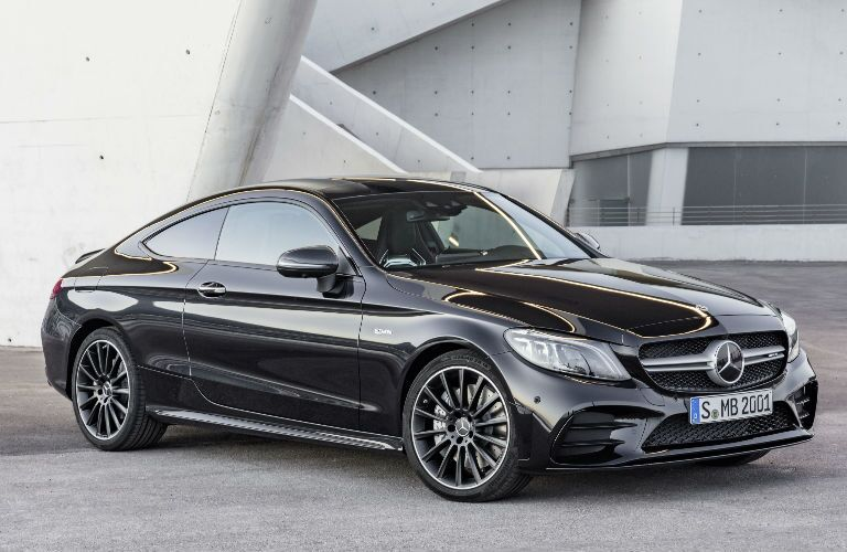 AMG C-Class Coupe in Black