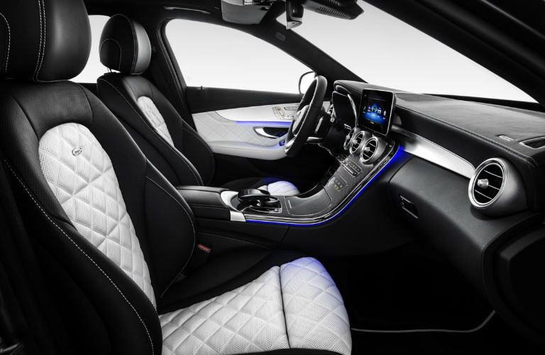 2019 C-Class Sedan Front Seats with Diamond Pattern