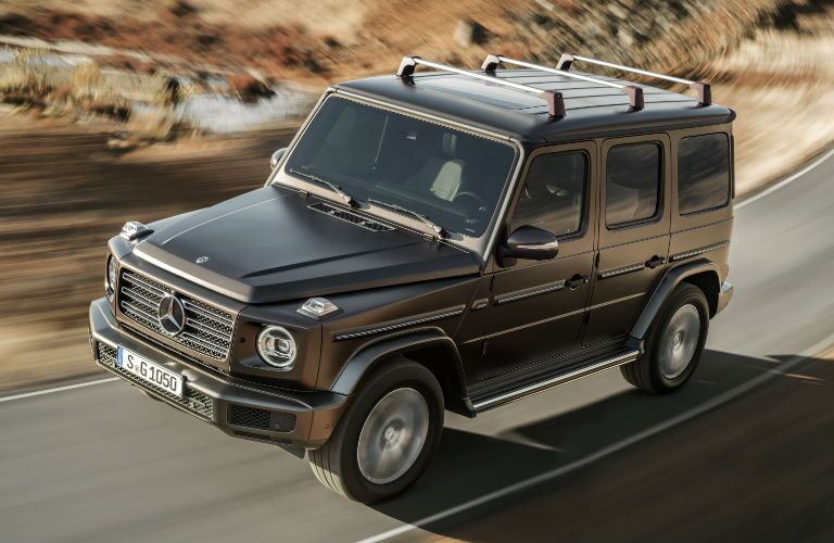 G-Class SUV in brown