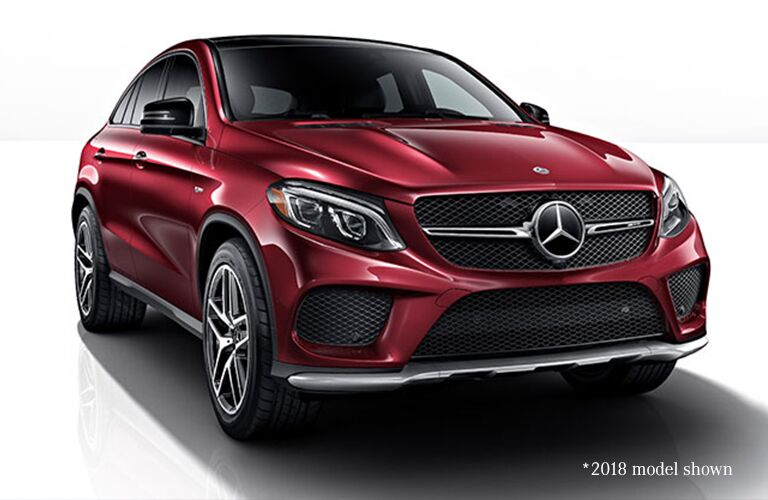2019 MB AMG GLE 43 Coupe exterior front fascia and passenger side